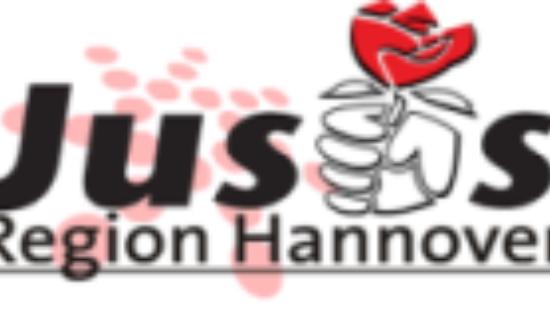 Logo Jusos Region Hannover Homepage Oben 190x100